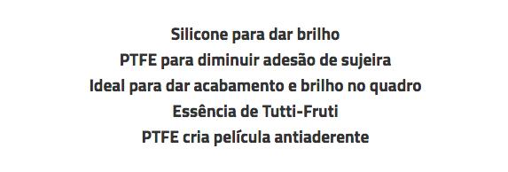 LUBRIFICANTE ALGOO POWERSPORTS SILICONE PTFE (TEFLON) PROTETOR PARA BICICLETAS - SPRAY 400ML  - ISP