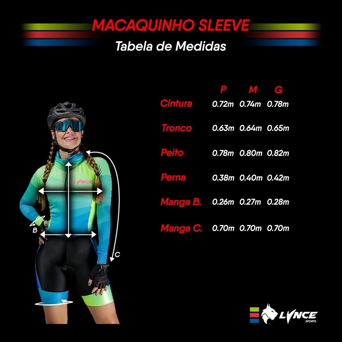 Macaquinho Lynce Feminino Black Outline Flower com Pedras Preto Ciclismo