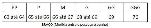 MANGUITO DE INVERNO ASW PRETO 18