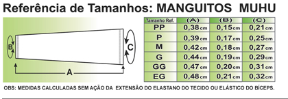 MANGUITO MUHU BIKE ARTE PRETA ESTILO 2