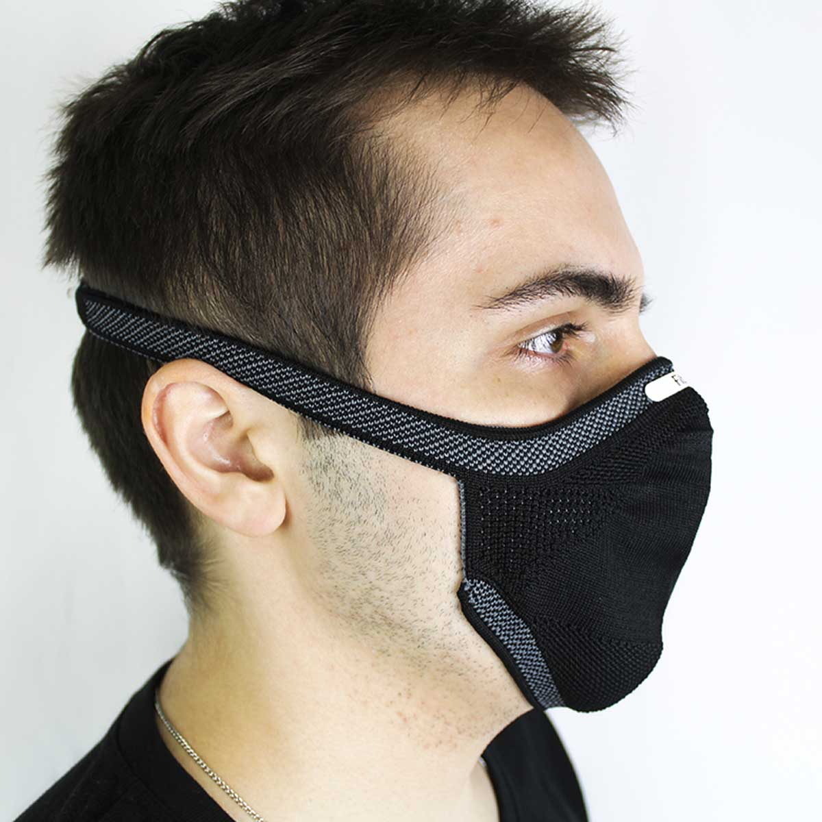 Mascara de Protecao Fiber Knit Corinthians Oficial 3d Lavavel