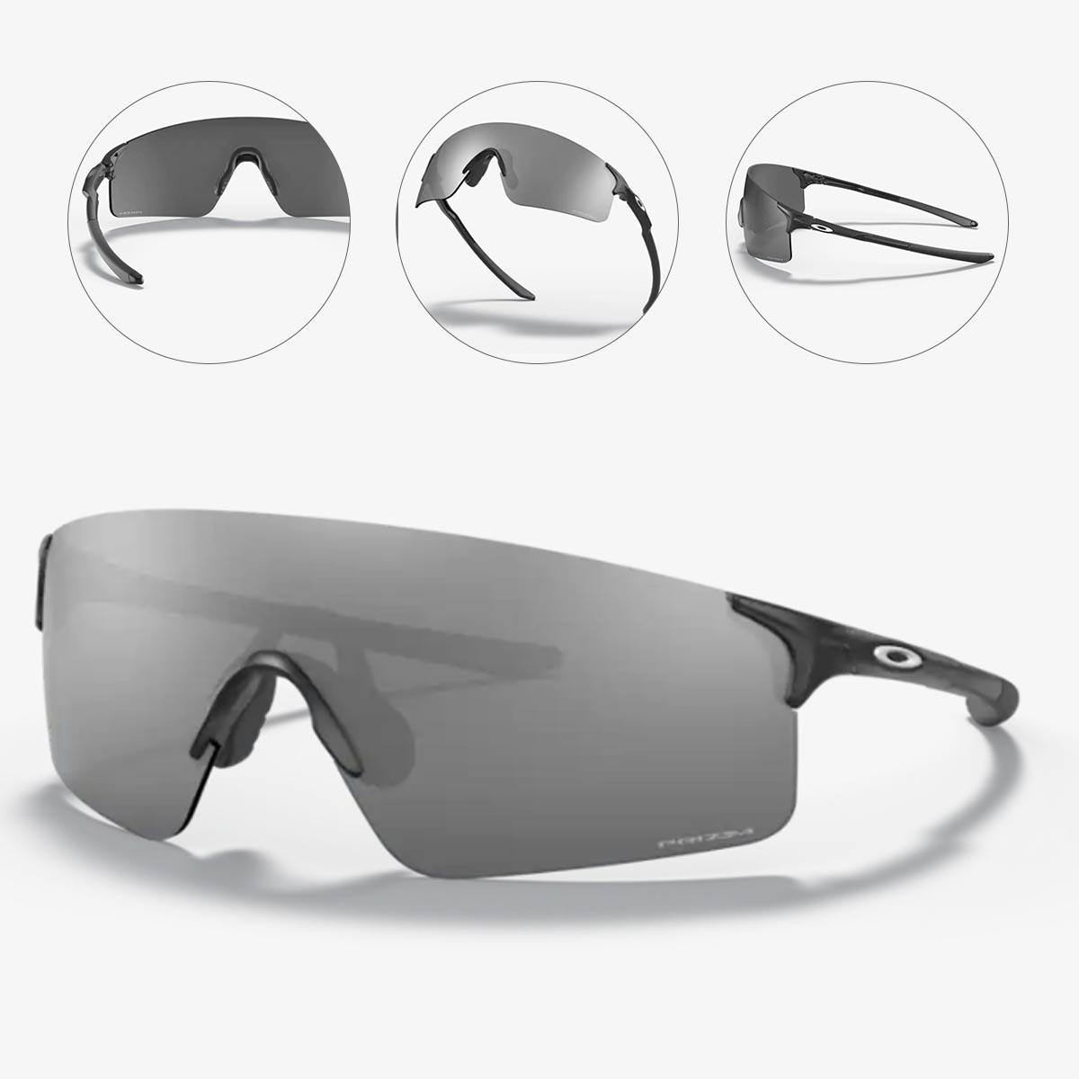 Oculos Para Ciclismo Oakley Ev Zero Blades Preto Fosco Com Lente Prizm Black Escura
