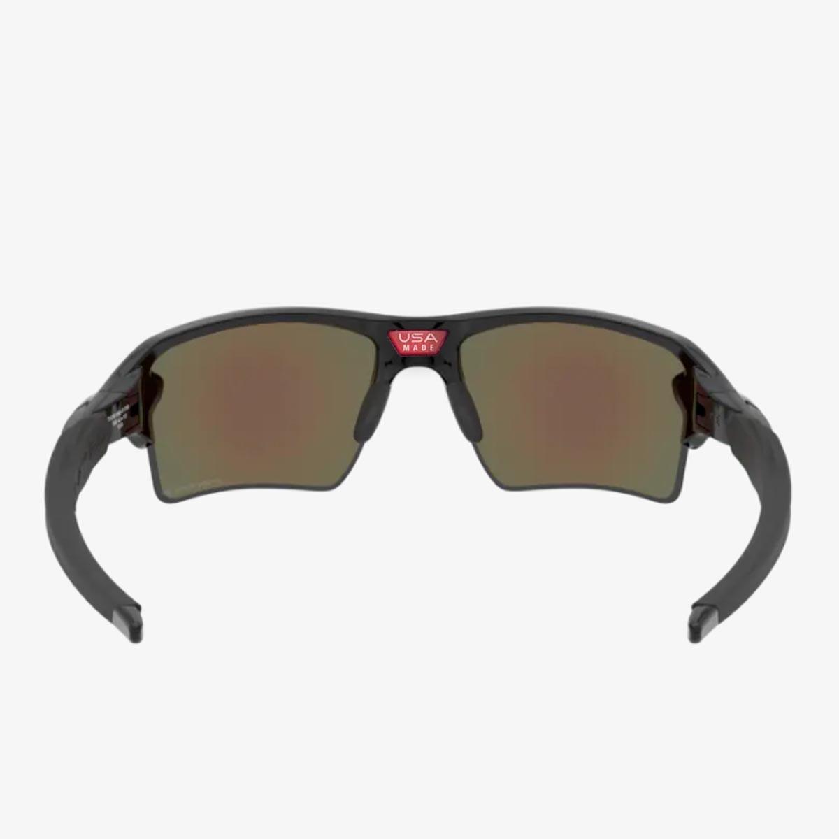 Oculos Para Ciclismo Oakley Flak 2.0 XL Preto Com Lente Prizm Sapphire Iridium Polarizada Espelhada Azul