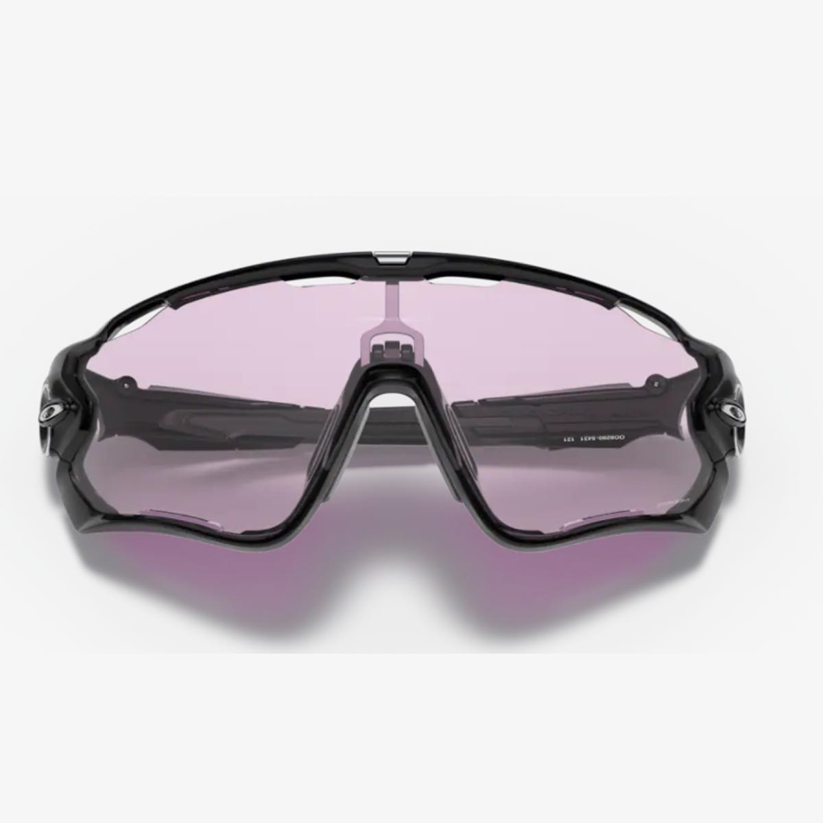 Oculos Para Ciclismo Oakley Jaw Braker Preto Brilho Com Lente Prizm Low Light Clara