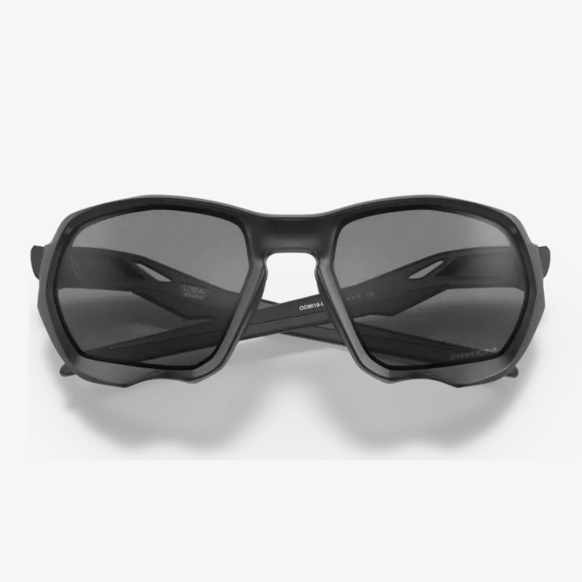 Oculos Para Ciclismo Oakley Plazma Preto Com Lente Prizm Escura