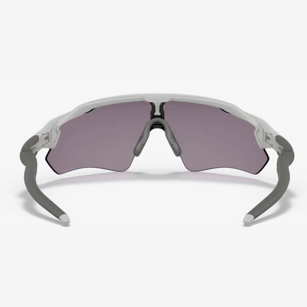 Oculos Para Ciclismo Oakley Radar Ev Path Cinza Fosco Com Lente Prizm Cinza Escura