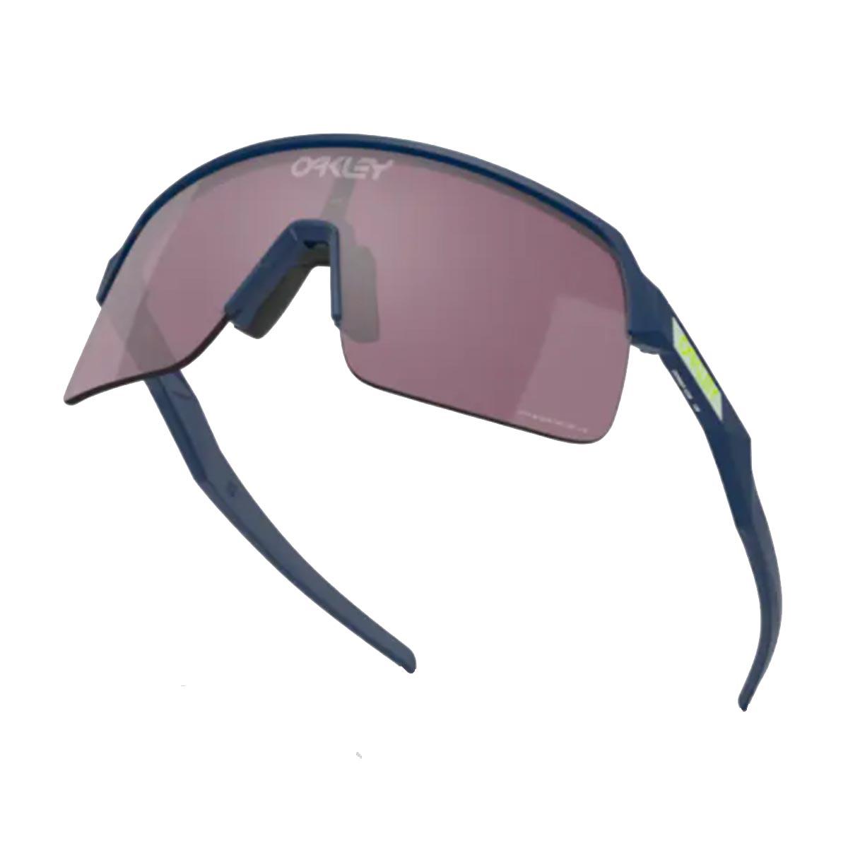 Oculos Para Ciclismo Oakley Sutro Lite Matte Poseidon com Lente Prizm Road Black Escura