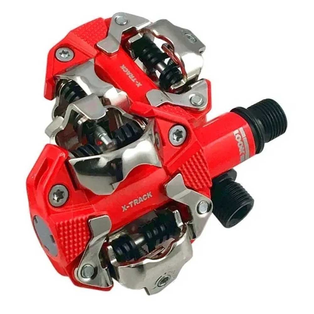 PEDAL CLIP MTB LOOK X-TRACK RED 360 G.