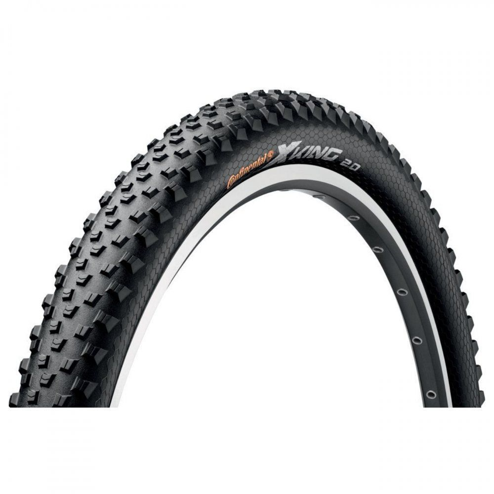 PNEU 27.5X2.0 CONTINENTAL X-KING PERFORMANCE PRETO/DOBRAVEL