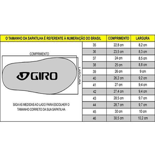 SAPATILHA MTB GIRO BERM CINZA E  PRETA - ISP