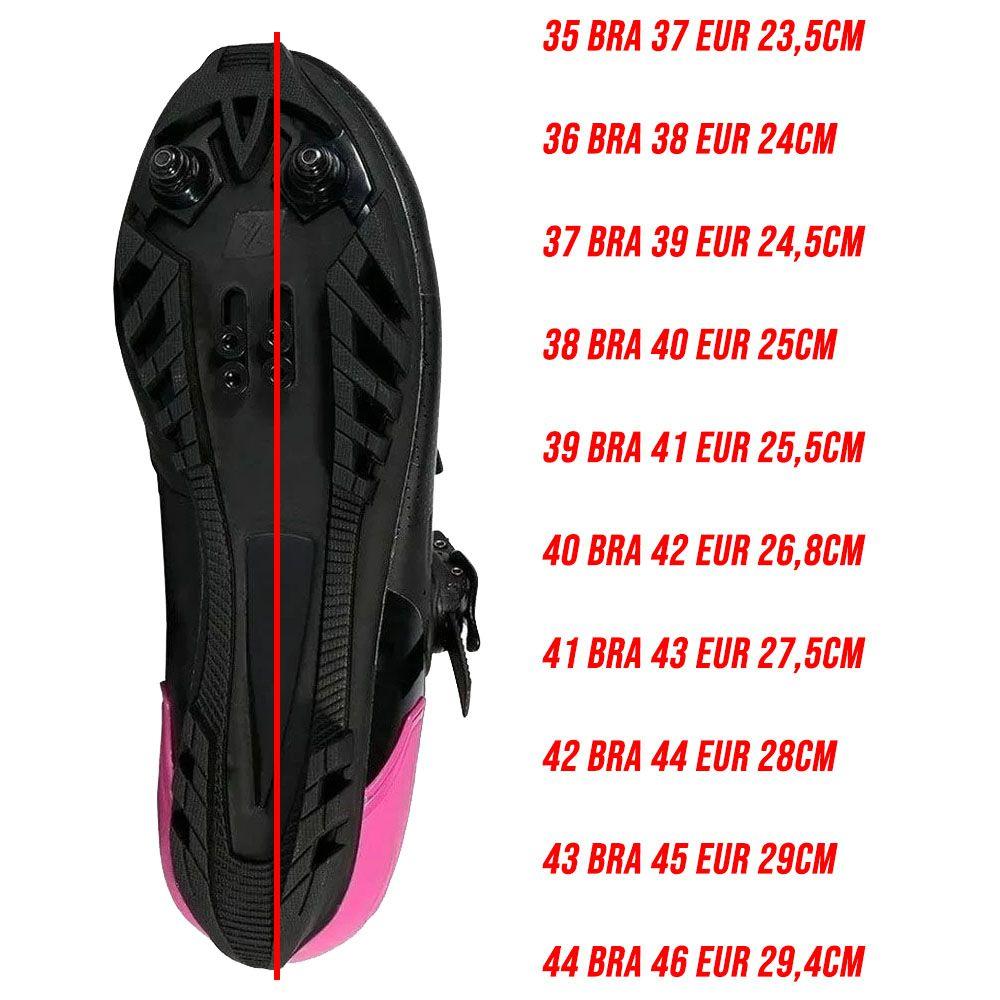 SAPATILHA MTB MATTOS RACING NEW TTR 20 PRETA E PINK CATRACA E VELCRO