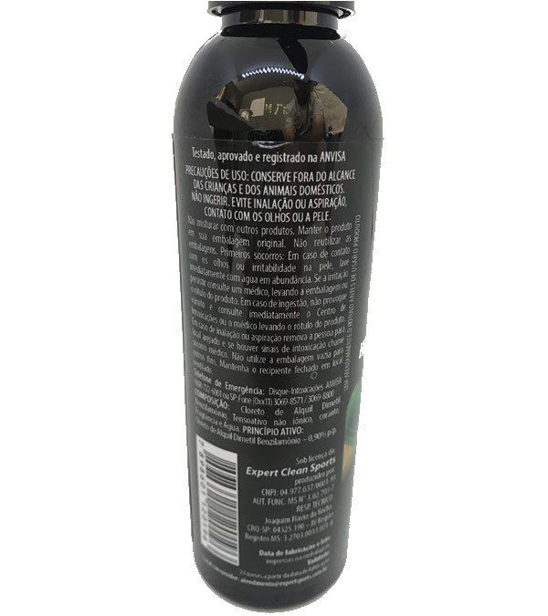 SPRAY ANTI ODOR EXPERT CLEAN PARA ESPORTISTAS MASCULINO 150 ML