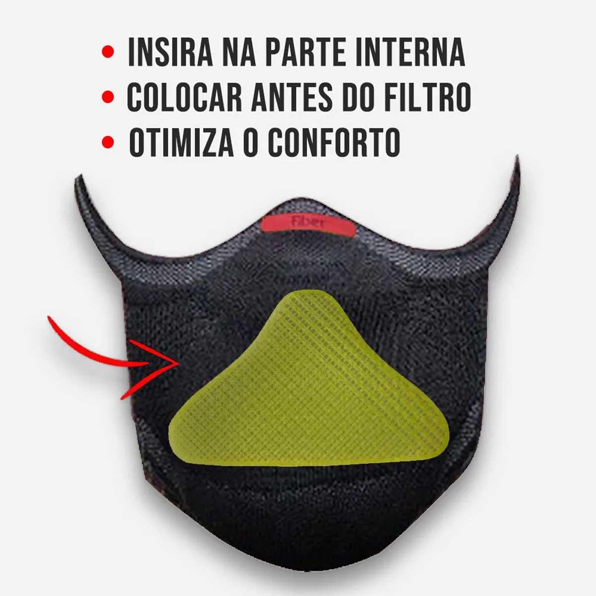 SUPORTE DE FILTRO PARA MASCARA FIBER KNIT