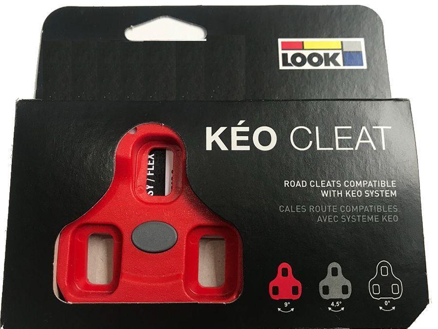 TACO PEDAL SPEED LOOK KEO VERMELHO 9º FLOAT - Roupas Para Ciclista - A  maior loja de vestuário de ciclismo do Brasil.