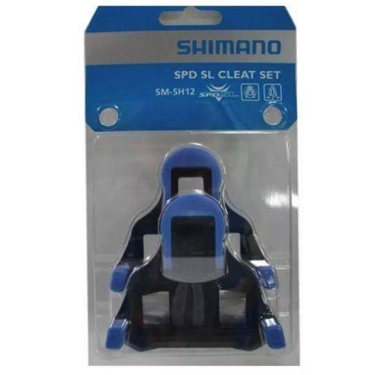 TACO PEDAL SPEED SHIMANO SM-SH12 (AZUL PIVOTANTE CENTRAL 2º)  PN:Y40B98140 - BLC