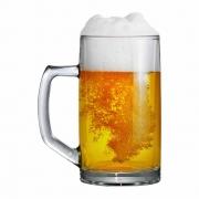 Caneca de Chopp de Vidro Cerveja Brema G 500ml