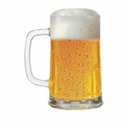 Caneca de Chopp de Vidro Cerveja Tudor P 415ml