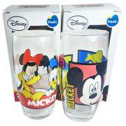 Conjunto de Copos Disney - Mickey Pluto e Pateta 2 Peças