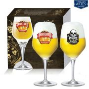 Conjunto de Taça de Cristal para Cerveja Beer Sommelier Elegance de 570ml 02 peças