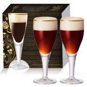 Conjunto de Taça para Cerveja Harzer de 415ml 02 pecas