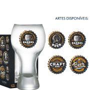 Copo Cerveja de Vidro Black Beer Collection 380ml
