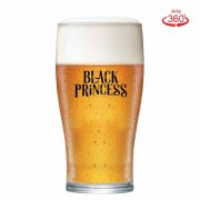 Copo de Cerveja Black Princess Blond Weiss Cristal 568ml