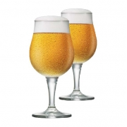 Copo de Cerveja de Cristal Mason M 390ml 2 Pcs