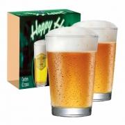 Copo de Cerveja de Vidro Caldereta 350 350ml 2 Pcs
