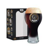 Copo de Cerveja Frases Cerveja Beer Coll. Beer Black 380ml