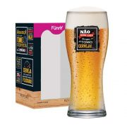 Copo de Cerveja Frases Engraçadas Não Tomo Bavaria 290ml