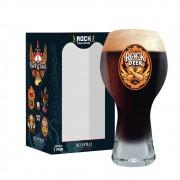 Copo de Cerveja Frases Rock Coll. Punho Black 380ml