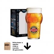Copo de Cerveja Rótulo Frases Cervecero Futebol 580ml