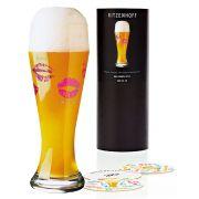 Copo Cerveja Vidro Ritzenhoff Wheatbeer Glass  Nicole Winter 2010 500ml