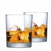 Copo de Whisky Prestige On The Rocks Vidro 340ml 2 Pcs