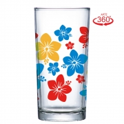 Copo Long Drink Multiuso Flores 260ml