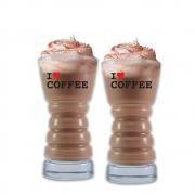 Copos Barista M I Love Coffee 2 Pcs