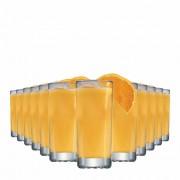 Jogo Copos Água Suco Bowling Vidro 340ml 12 Pcs