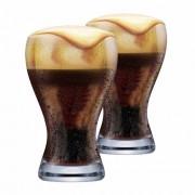 Copo de Cerveja de Cristal Black Premium 425ml 2 Pcs