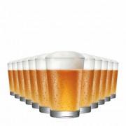 Jogo Copos Cerveja Caldereta 350 Vidro 350ml 12 Pcs