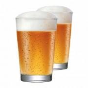 Jogo Copos Cerveja Caldereta 350 Vidro 350ml 2 Pcs