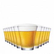Jogo Copos Cerveja Choppinho Vidro 235ml 12 Pcs