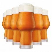 Copo de Cerveja de Cristal Craft Beer 495ml 6 Pcs