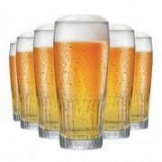 Copo de Cerveja de Vidro Paloma G 390ml 6 Pcs