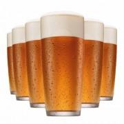 Copo de Cerveja de Vidro Prime M 320ml 6 Pcs