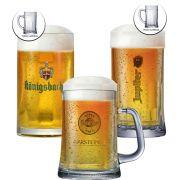 Jogo de Canecas de Cerveja Coleção Cervejas do Mundo 3 pçs