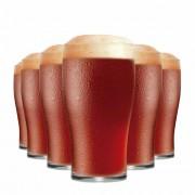 Jogo de Copos de Cerveja Half Pint Vidro 295ml 6 Pcs