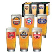 Jogo de Copos de Cerveja HH Prime P 220ml Luva 6 Pcs