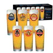 Jogo de Copos de Cerveja HH Zurich M 320ml 6 Pcs