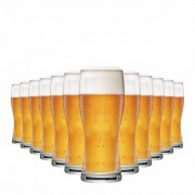 Jogo de Copos de Cerveja Koblens P 340 Ml Vidro 340ml 12 Pcs