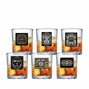 Jogo de Copos de Whisky de Vidro Mirage 280ml 6 Pcs